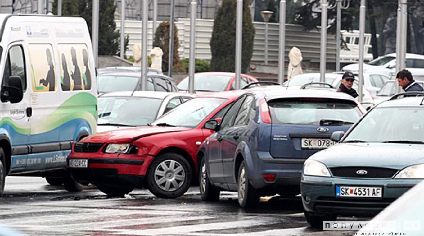 Викендот во Скопје 26 сообраќајки