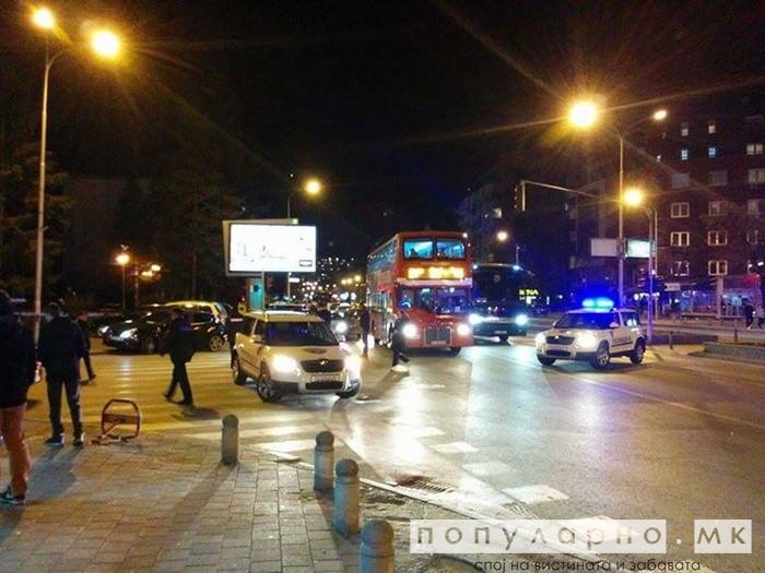 Девојче прегазено на Партизанска: 26-годишниот возач се обидел да избега