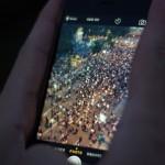 Фотогалерија од вчерашните мирни протести пред Собранието на Република Македонија