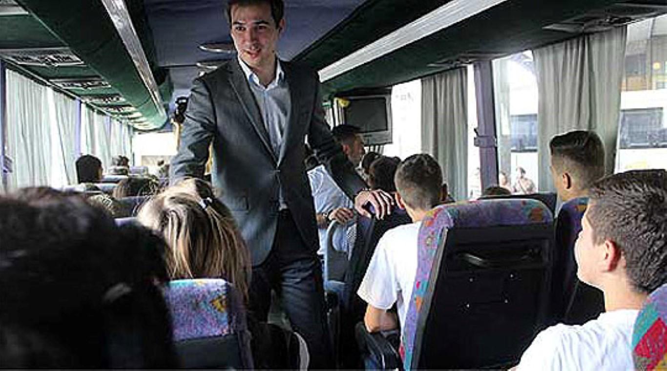 Замина првата група деца на бесплатен одмор во Струга