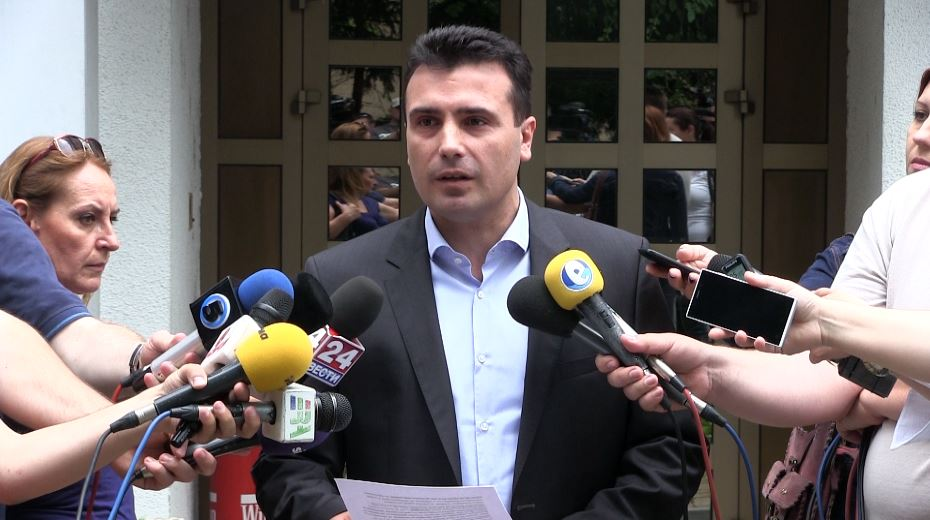 Заев нема да оди на состанокот во Брисел на 10 јуни
