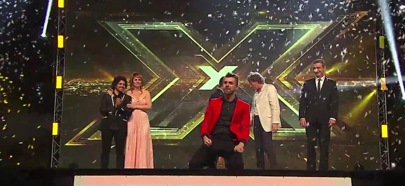 Амел Чуриќ победник на втората сезона на Икс Фактор Адриа