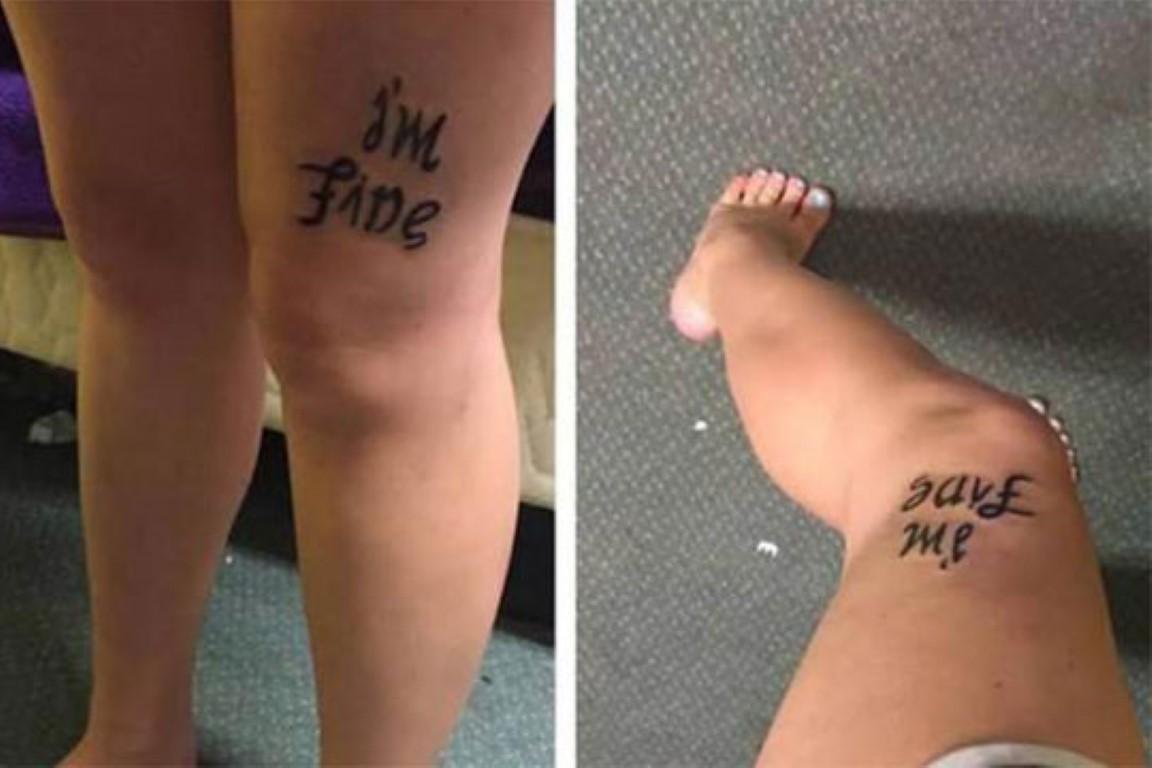 ФОТО: Оваа тетоважа пренесува две пораки од два различни агли
