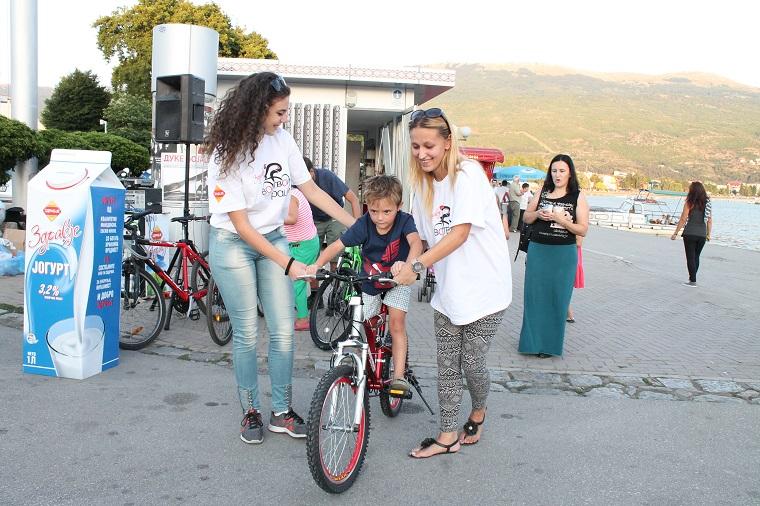 """Во Охрид успешно беше реализирана акцијата на Здравје Радово """"Здравје во твои раце"""""""