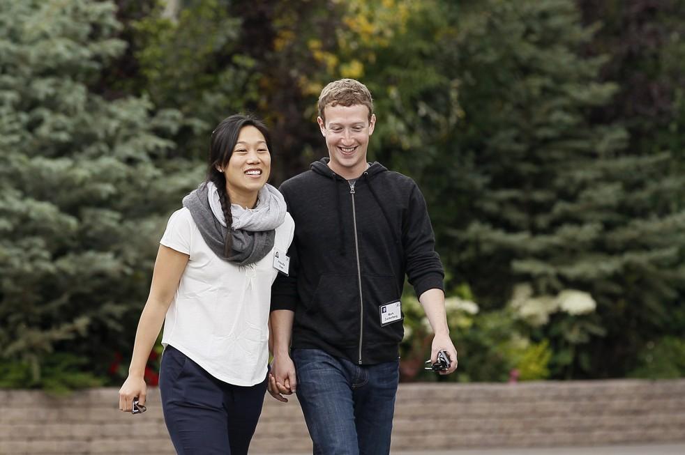 Марк Цукенберг и неговата сопруга Присила Чан очекуваат бебе