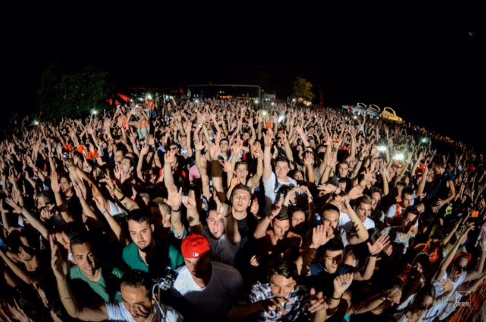 Фед Ле Гранд приреди шоу на отворањето на Хајнекен Грин Бич Фестивал во Охрид