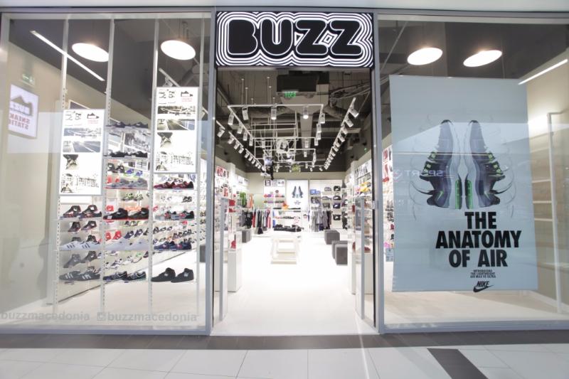 Светски спортски брендови во новата продавница BUZZ во Скопје Сити Мол