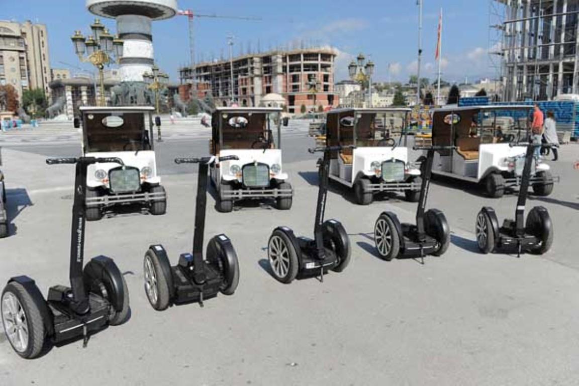 Промовирани новите електромобили за туристичко разгледување на Скопје