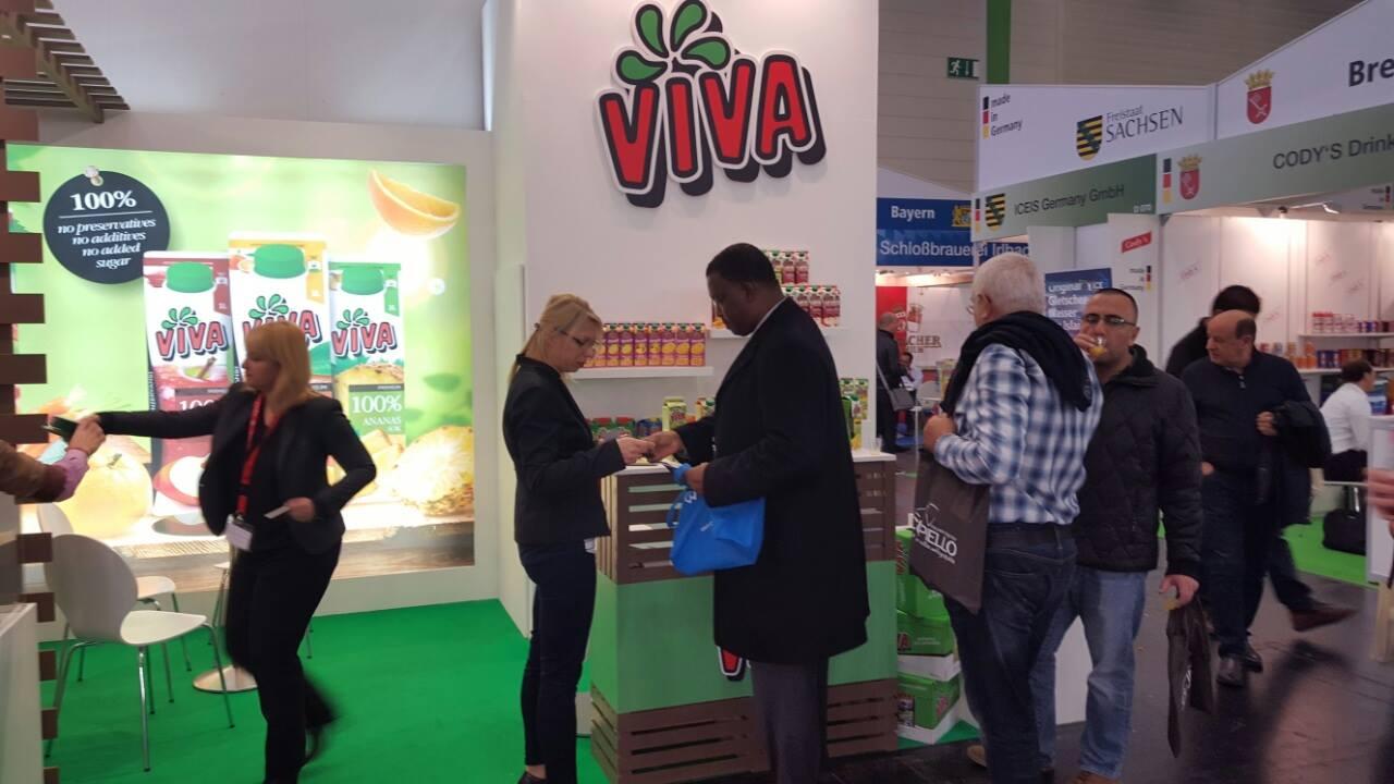 ФОТО: Вива соковите привлекоа внимание на најпознатиот саем во оваа индустрија - Ануга 2015
