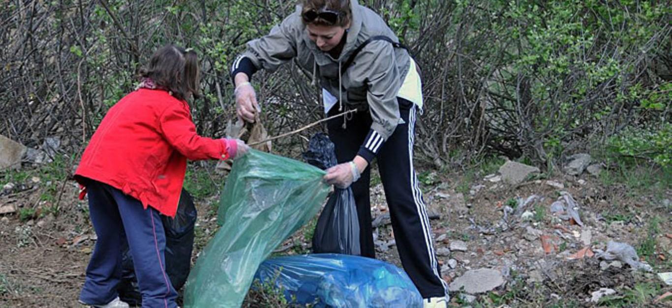 """Национална акција за чистење од отпад - """"Македонија без отпад 2015"""""""