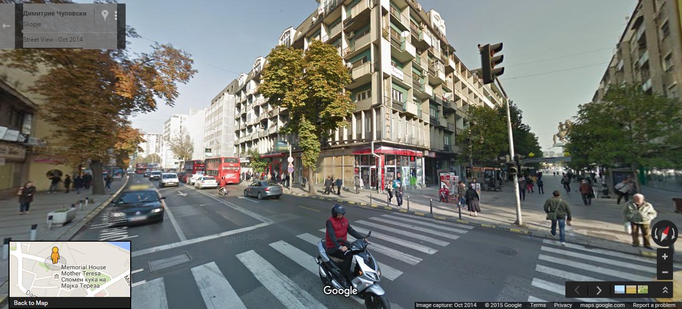 Македонија од денеска на Google Street View!