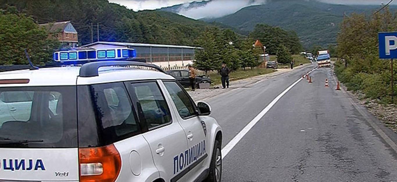 """Во сообраќајка кај Кичево повредени 18 работници на РЕК """"Осломеј"""""""