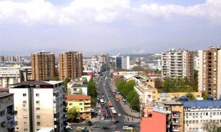 Центарот на Скопје затворен за сообраќај