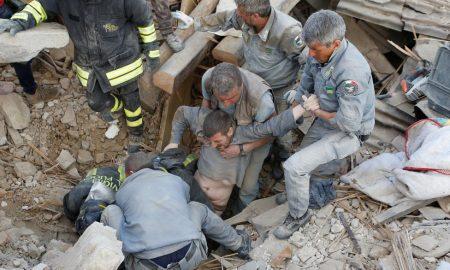 Според неофицијални податоци во земјотресот во Италија загинаа 63 лица