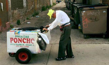 САД: Му се насмевна среќата на дедото кој продаваше сладолед за да преживее