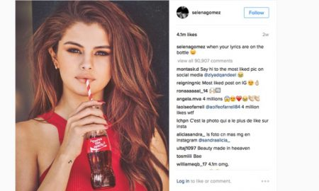 Селена Гомез први стигна до бројката од 100 милиони следбеници на Инстаграм