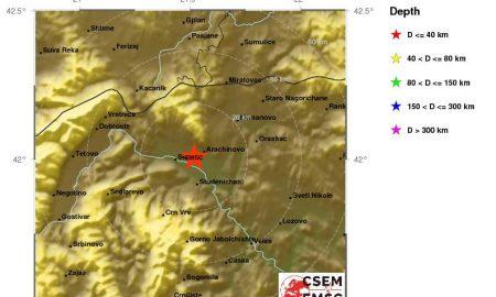 Повторно силен земјотрес во Скопје!
