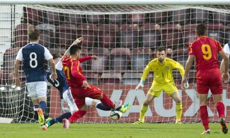 Победа на младите македонски фудбалери над Шкотска