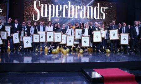 """Доделени """"Супербренд"""" признанијата на најдобрите македонски компании за 2016 (ФОТО)"""