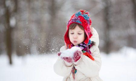 И кога температурите се под нулата, изнесете го детето надвор
