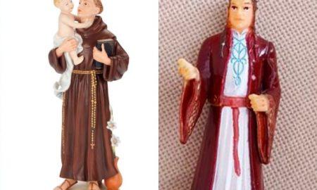 """Старица со години се молела на фигура од """"Господар на прстените"""""""