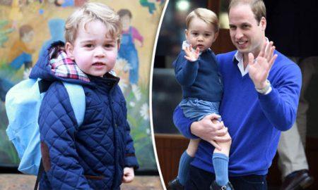 Принцот Џорџ тргнува во училиште и не смее да има еден најдобар пријател!