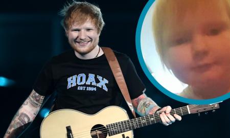 ГО РАЗНЕЖНИ ИНТЕРНЕТОТ: Ова бебе е неверојатно слично со пејачот Ед Шеран! (ФОТО)