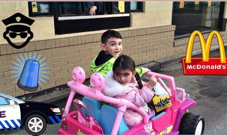 Осумгодишник научил да вози на интернет и ја однел помалата сестра во Мекдоналдс