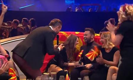 """ЗАПРОСУВАЊЕ НА ЕВРОВИЗИЈА: Јана Бурческа кажа """"да""""! (ВИДЕО)"""