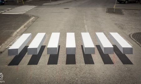 3Д пешачки премини во Исланд (ВИДЕО)