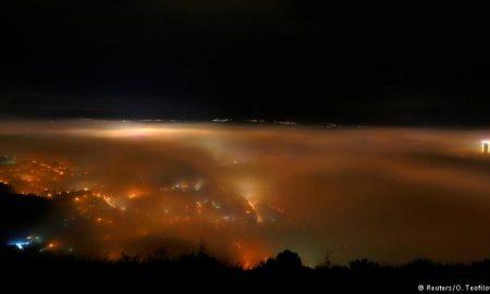 И вечерва екстремно загадување на воздухот во Скопје