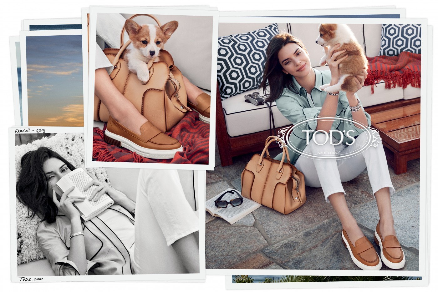 """Кендал Џенер е новото заштитно лице на модниот бренд """"Тодс"""""""