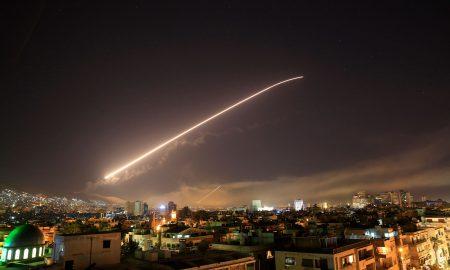 САД, Велика Британија и Франција извршија напади врз Сирија