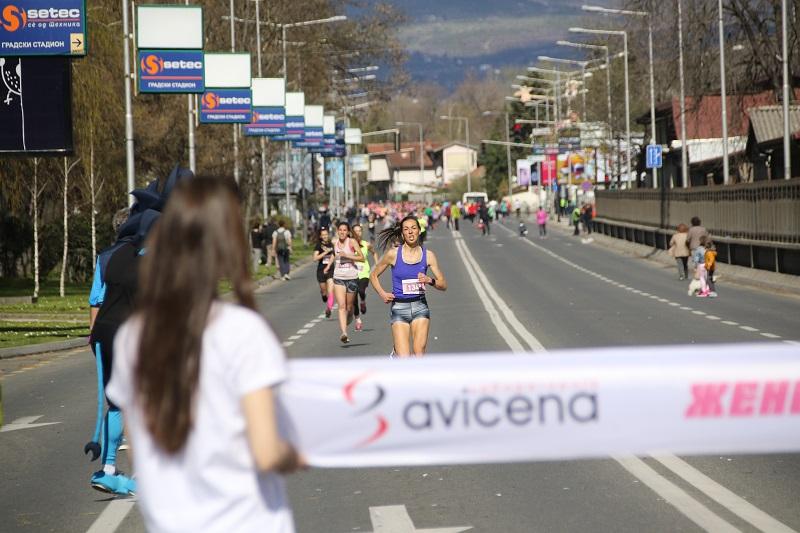 Авицена Женска трка со рекорден број учеснички, најуспешните со вредни награди (ФОТО)