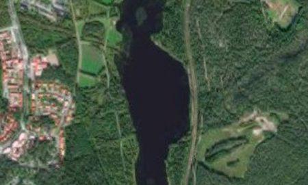 Езерото Вимпелинлампи како двојник на Трамп
