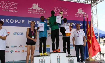 Еванс Бивот го освои првото место, Андријана Поп Арсова го урна маратонскиот рекорд во Македонија