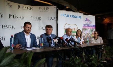 На 6-ти мај Скопје ќе бие во ритамот на Виз Ер Скопски маратон