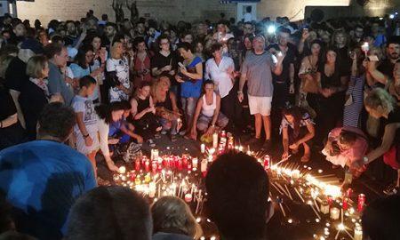 Во Атина одржан собир во чест на жртвите во пожарите