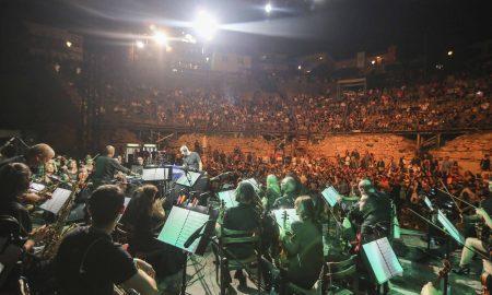 Несекојдневно визуелно доживување и музички спектакл на Филхармонија со Џијан Емин и диџеј Хуан Аткинс