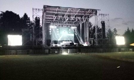 Сѐ е подготвено за утрешниот концертен спектакл на Шон Пол! (ФОТО)