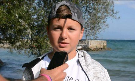 ХЕРОЈ НА ДЕНОТ: 12-годишниот Марко го преплива Охридското Езеро