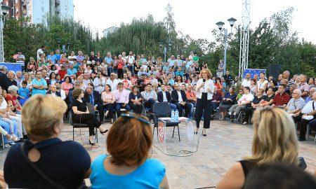Шекеринска: На 30 септември да гласаме за европска Македонија