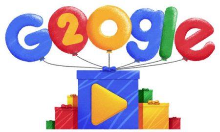 Гугл наполни 20 години