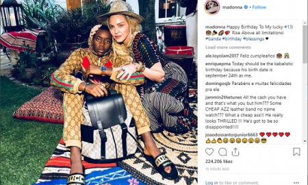 Гучи роденденска забава за посвоените деца на Мадона