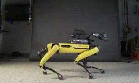 """Робот-куче танцуваше во ритмот на """"Uptown Funk"""" (ВИДЕО)"""